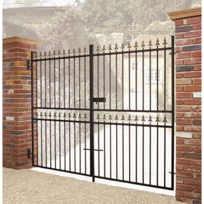 Click to view product details and reviews for Burbage Iron Craft Corfe Tall Double Gate.
