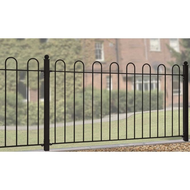 Click to view product details and reviews for Burbage Iron Craft Court Fence Panel.