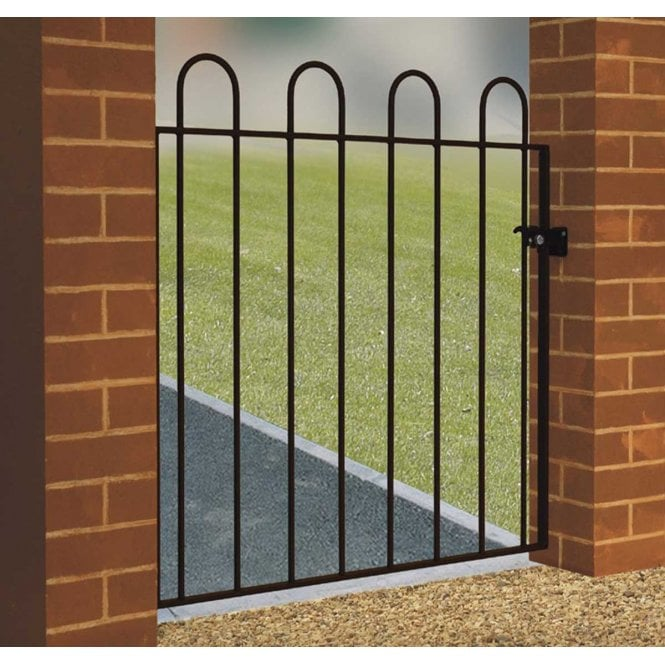 Burbage Iron Craft Court Low Single Gate