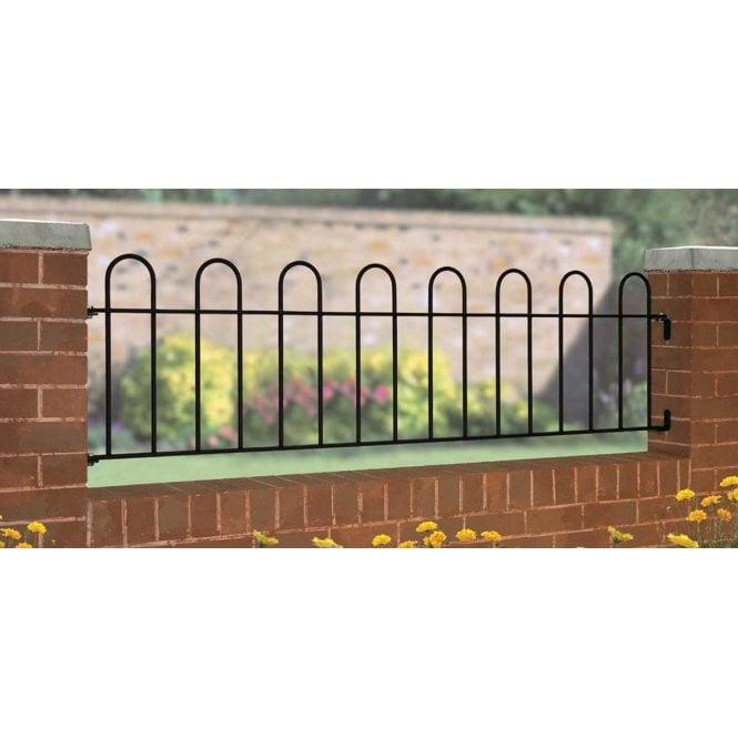 Click to view product details and reviews for Burbage Iron Craft Court Railing Panel.