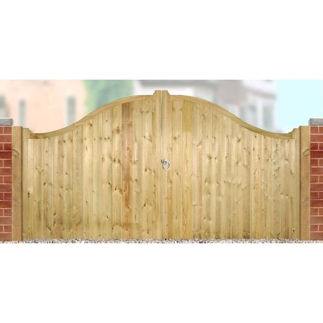 Click to view product details and reviews for Burbage Iron Craft Drayton Low Curved Top Double Gate.