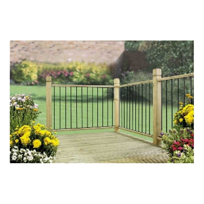 Burbage Iron Craft Garda Deck Panel Pack Of 2