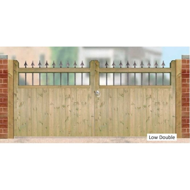 Click to view product details and reviews for Burbage Iron Craft Hampton Low Double Garden Gate.