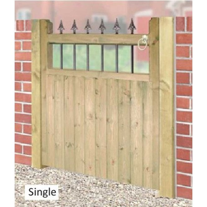 Click to view product details and reviews for Burbage Iron Craft Hampton Single Garden Gate.