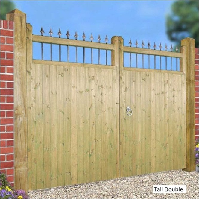 Click to view product details and reviews for Burbage Iron Craft Hampton Tall Double Garden Gate.