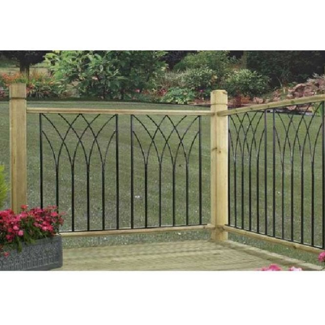 Click to view product details and reviews for Burbage Iron Craft Java Medium Deck Panel.