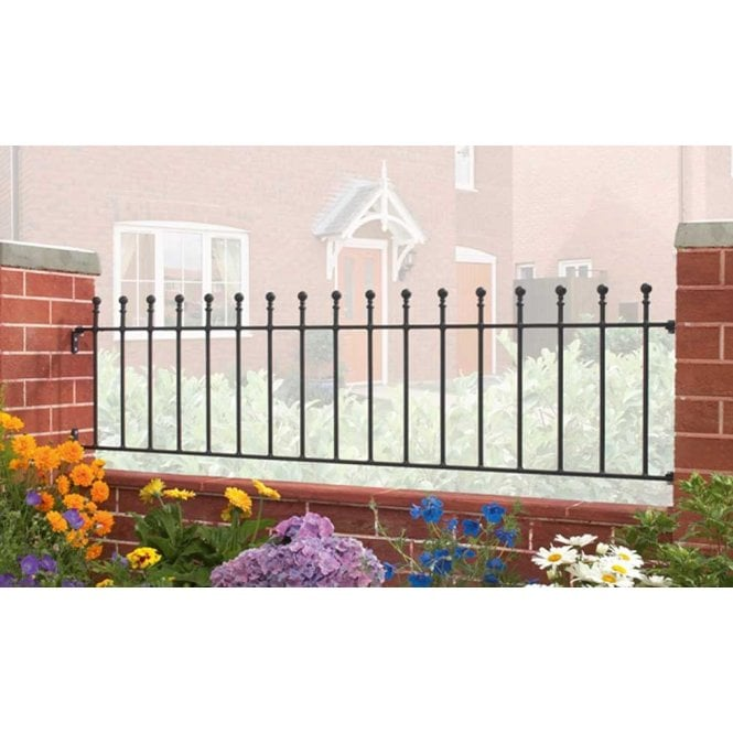 Click to view product details and reviews for Burbage Iron Craft Manor Railing Panel.