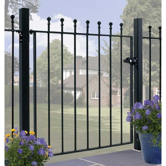 Click to view product details and reviews for Burbage Iron Craft Manor Single Gate.