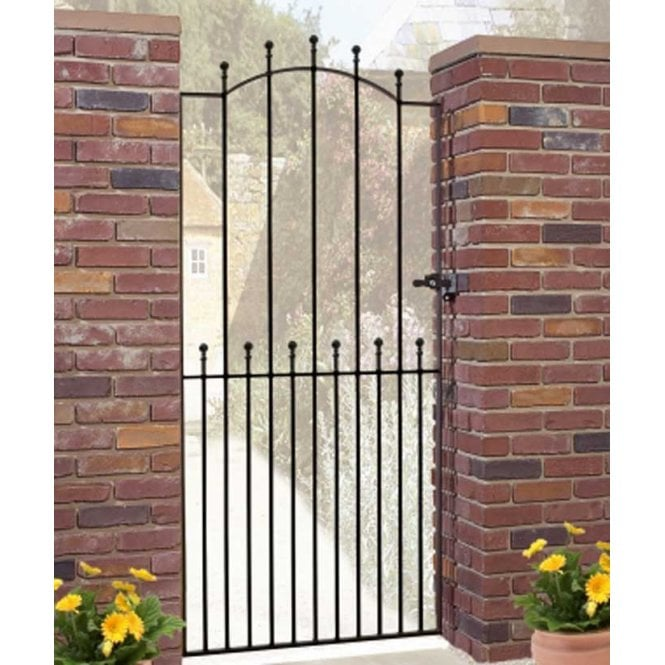 Burbage Iron Craft Manor Tall Bow Single Gate
