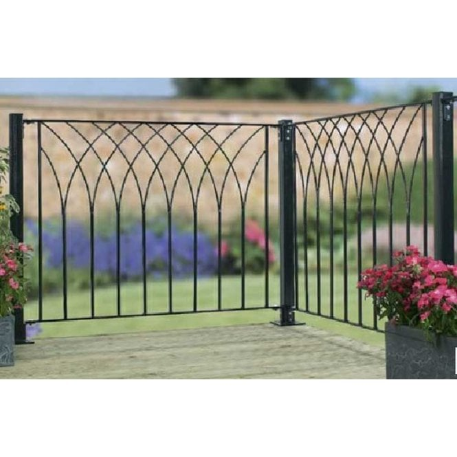 Click to view product details and reviews for Burbage Iron Craft Nova Large Deck Panel.