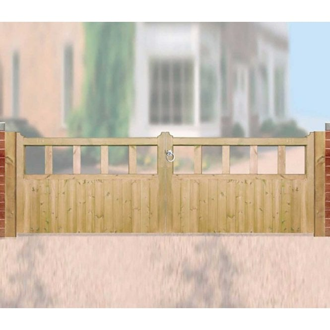 Click to view product details and reviews for Burbage Iron Craft Quorn Double Garden Gate.