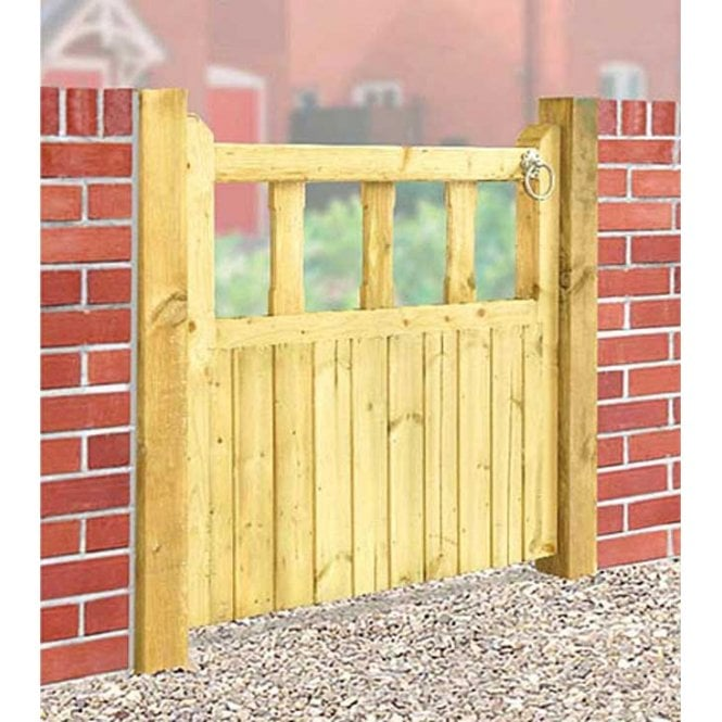 Burbage Iron Craft Quorn Single Garden Gate