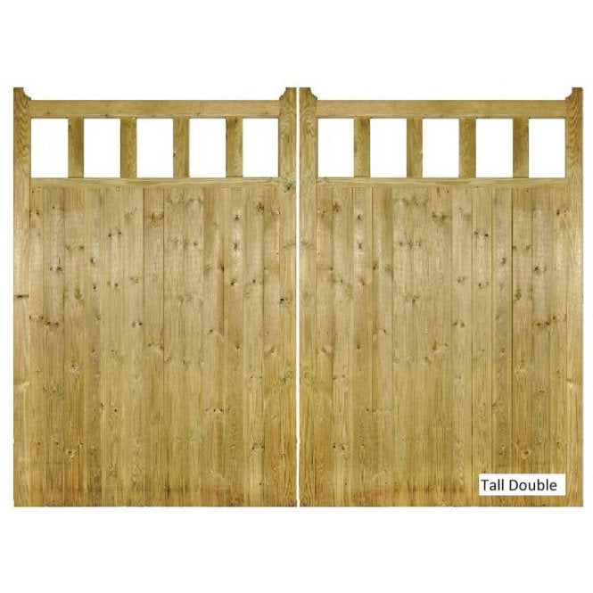 Click to view product details and reviews for Burbage Iron Craft Quorn Tall Double Garden Gate.