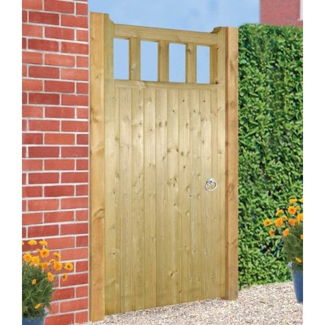 Click to view product details and reviews for Burbage Iron Craft Quorn Tall Single Garden Gate.