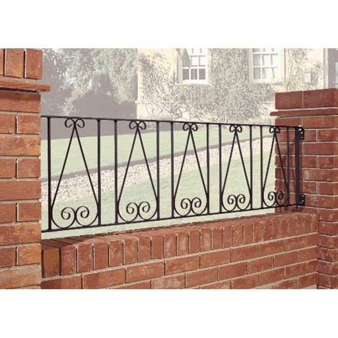 Click to view product details and reviews for Burbage Iron Craft Regent Railing Panel.