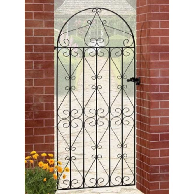Click to view product details and reviews for Burbage Iron Craft Regent Tall Bow Top Single Gate.
