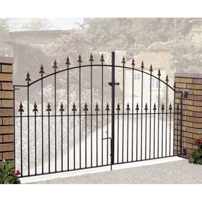 Click to view product details and reviews for Burbage Iron Craft Saxon Arched Double Gate.