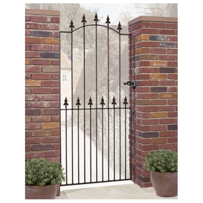 Click to view product details and reviews for Burbage Iron Craft Saxon Tall Single Gate.