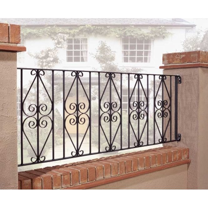 Burbage Iron Craft Stirling Railing Panel