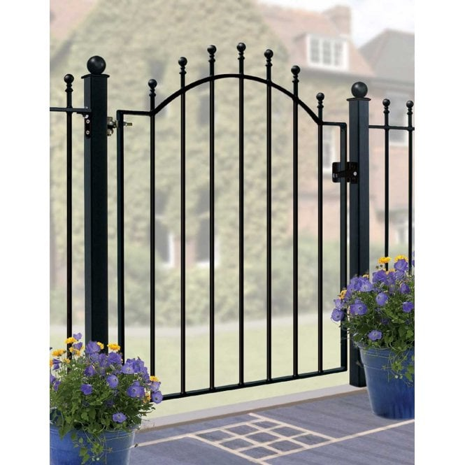 Click to view product details and reviews for Burbage Iron Craft Weston Low Bow Singe Gate.