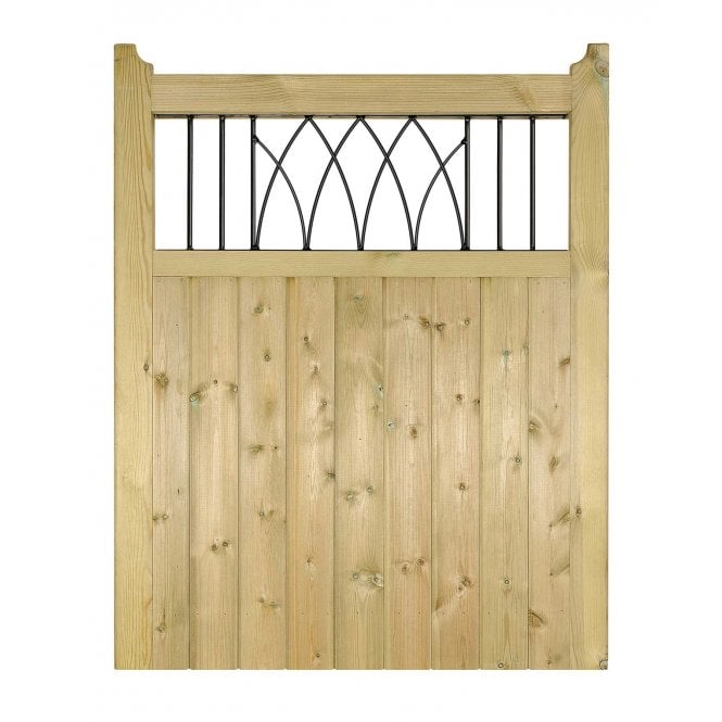 Click to view product details and reviews for Burbage Iron Craft Windsor Single Garden Gate.