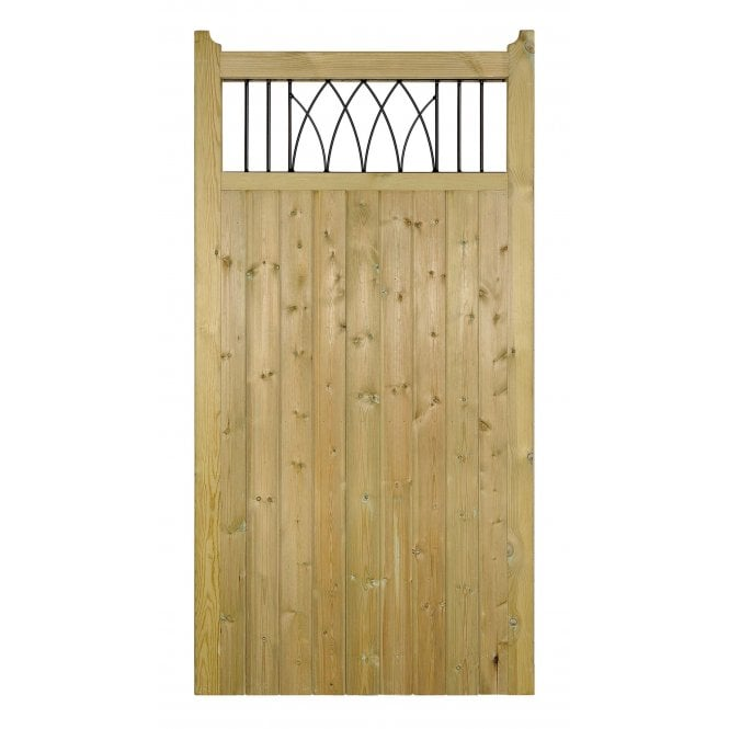 Click to view product details and reviews for Burbage Iron Craft Windsor Tall Single Garden Gate.