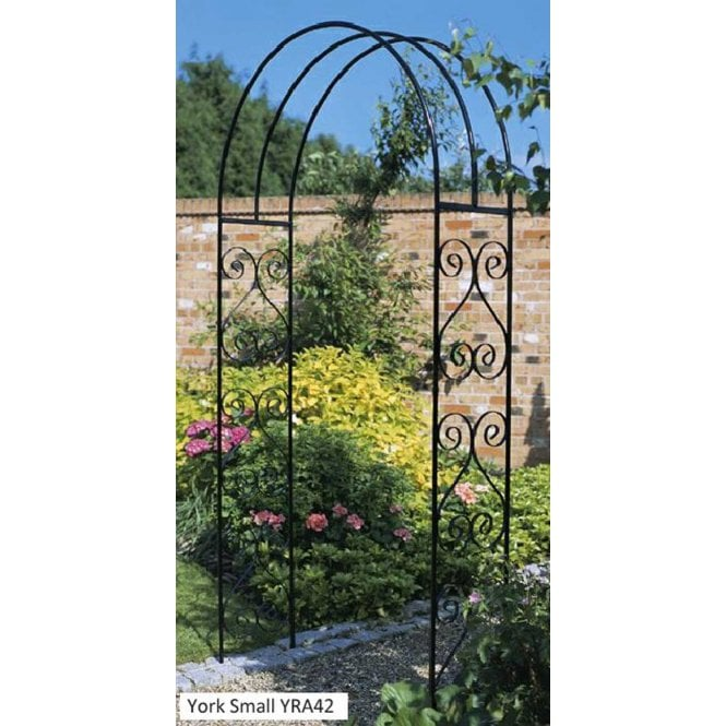 Click to view product details and reviews for Burbage Iron Craft York Rose Arch.