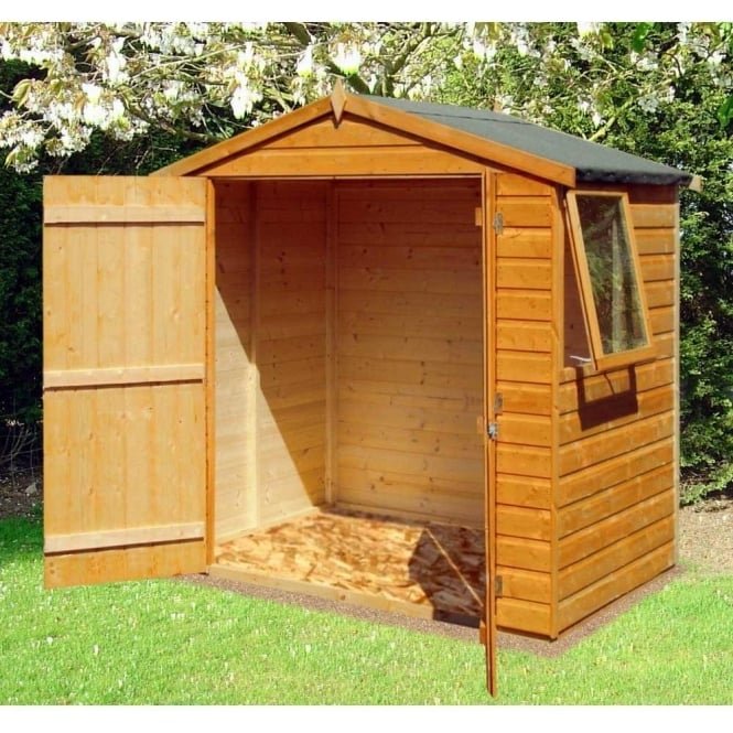 Click to view product details and reviews for Bute 6ft X 4ft Garden Shed Double Door.