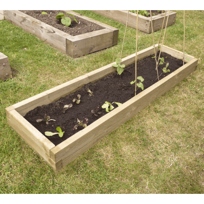 Click to view product details and reviews for Caledonian Long Raised Bed – 450mm X 1800mm.