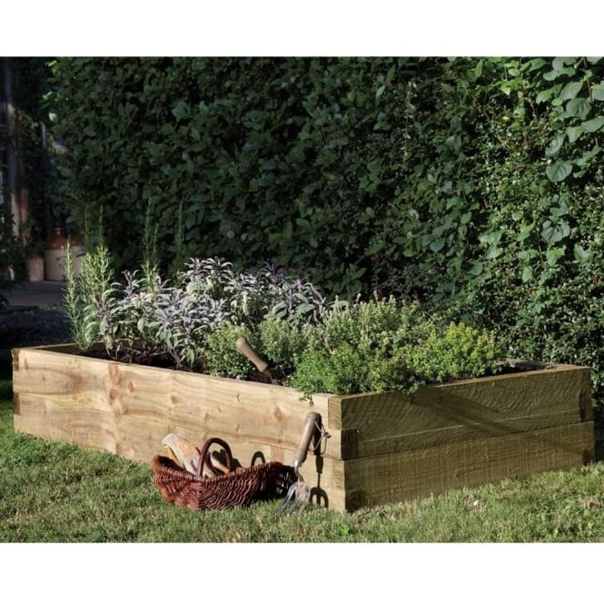 Caledonian Raised Bed Planter 18m X 09m