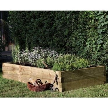 Caledonian Raised Bed Planter 1.8m x 0.9m