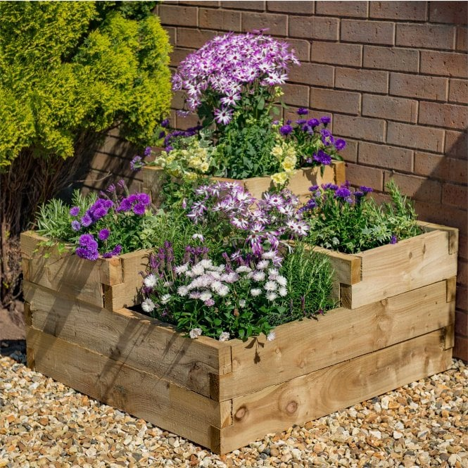 Click to view product details and reviews for Caledonian Tiered Raised Bed Planter 09m X 09m.