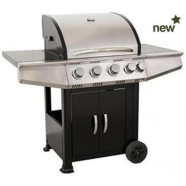 Calgary 4 Burner Gas BBQ with Side Burner