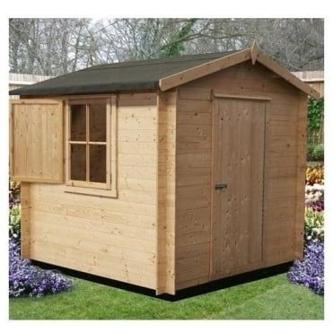 Camelot Log Cabin 3 Sizes 7x7 / 8x8 / 9x9