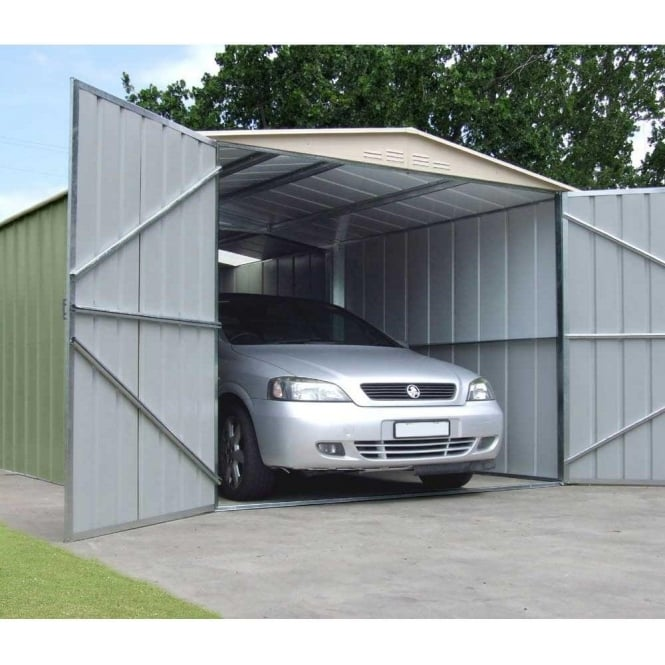 Canberra Steel Garage with Double Doors