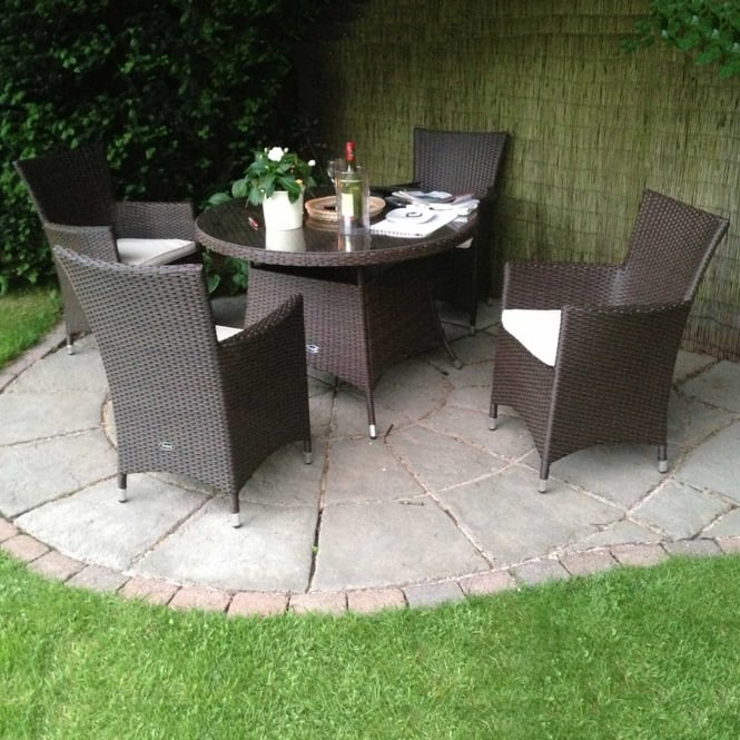 Click to view product details and reviews for Cannes 4 Person Round Dining Set.