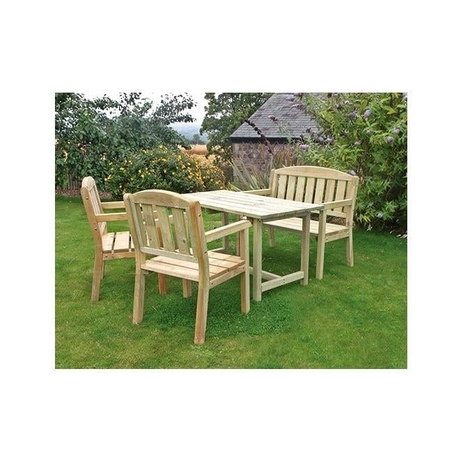 Click to view product details and reviews for Caroline Table Bench And 2 Chair Set.
