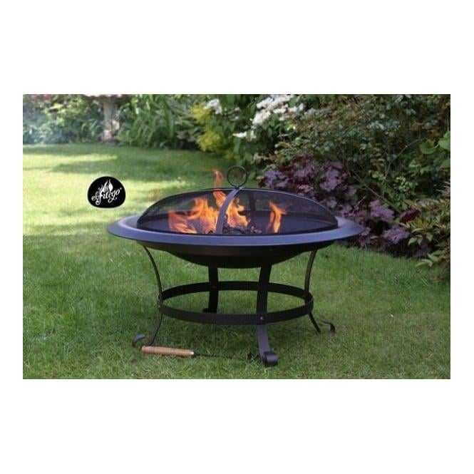 Cassiopea Extra Large Steel Fire Pit