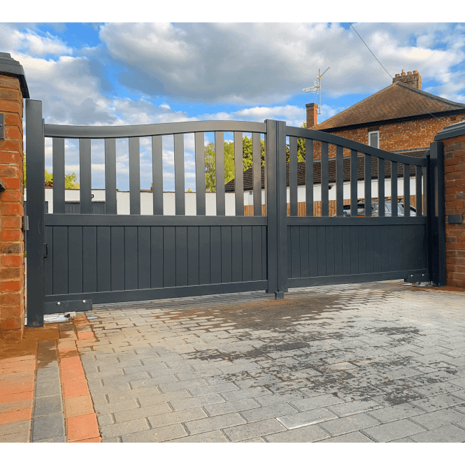 Click to view product details and reviews for Cheltenham Aluminium Driveway Gate.