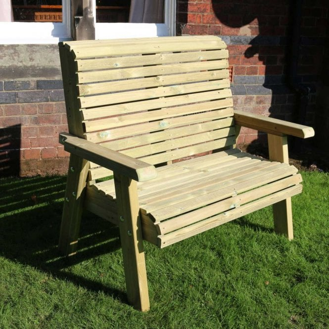 Click to view product details and reviews for Churnet Valley Ergo 2 Seater Bench.