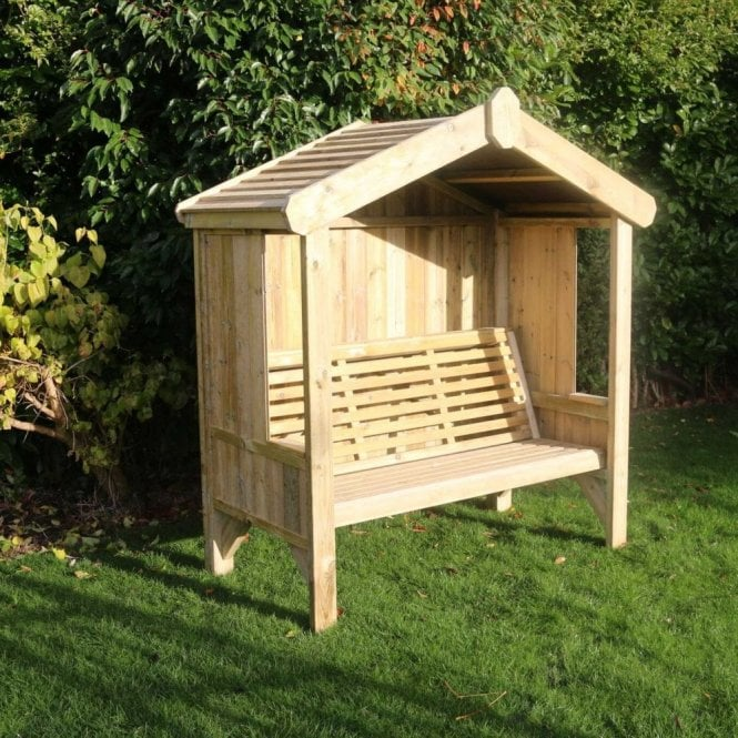 Click to view product details and reviews for Churnet Valley Three Seater Cottage Arbour.