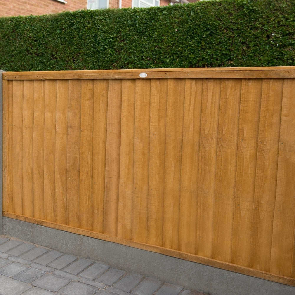 Closeboard Garden Fence Panels: 4 Heights Available