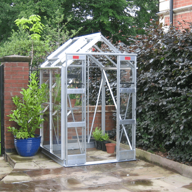 Compact 4 X 4 Greenhouse Package Deal