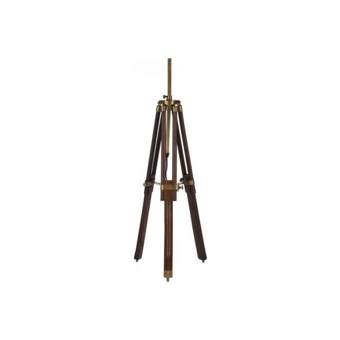 Click to view product details and reviews for Connaught Wood Tripod Table Lamp Base.