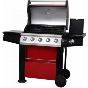 Connoisseur Ultra Deluxe 5 Burner BBQ with Side Burner