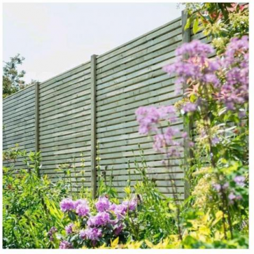 Contemporary Fence Panel