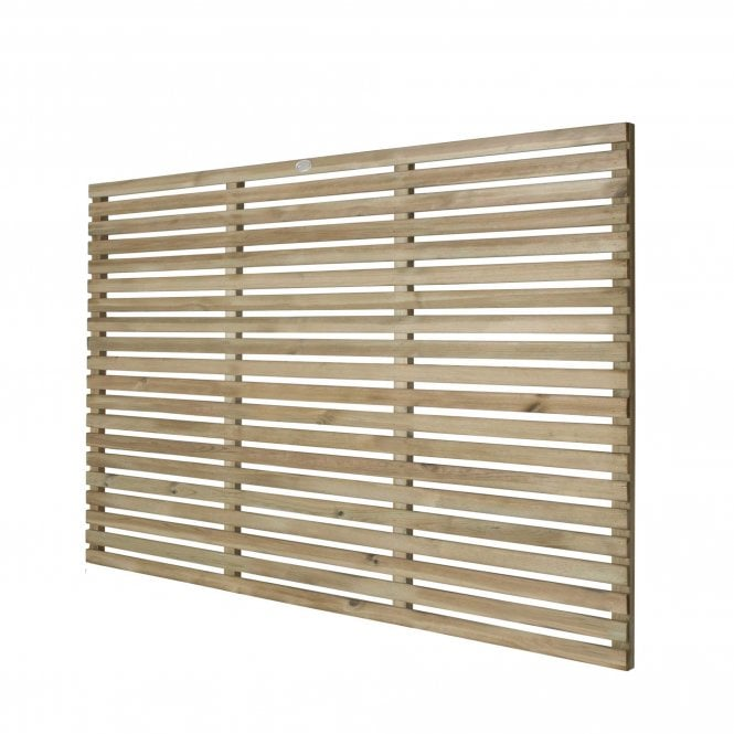 Click to view product details and reviews for Contemporary Slatted Fence Panel 18m X 12m.
