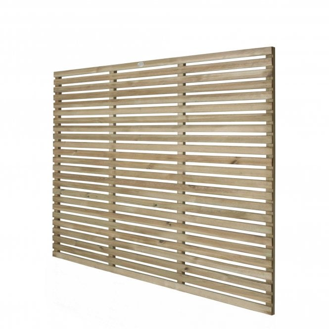 Click to view product details and reviews for Contemporary Slatted Fence Panel 18m X 15m.