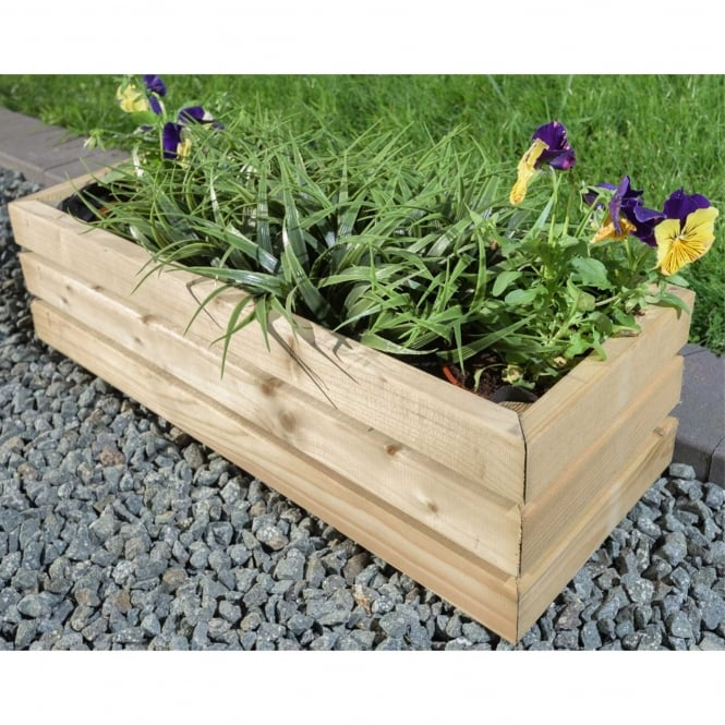 Click to view product details and reviews for Contemporary Small Rectangular Planter.