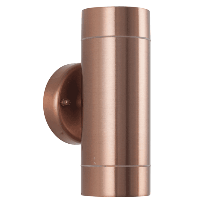 Copper Metal Dual Wall Light